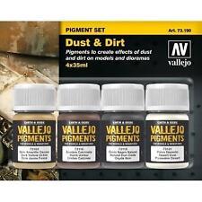 AV Vallejo - Dust & Dirt Pigment Set # 73190