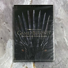Game of Thrones: Complete Season 8 (DVD, 4-Disc, 2019) Fast Shipping US seller