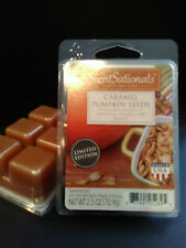 2 PACKS ScentSationals CARAMEL PUMPKIN SEEDS Scented Wax Cubes & FREE Shipping!
