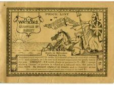 STAMP DEALER 1935 H.C WATKINS 64 PAGE BOOKLET ADVERTISING STAMPS ACCESSORIES etc