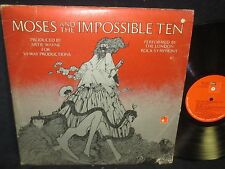 Moses and The Impossible Ten Double LP with Booklet