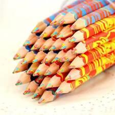 Mixed Colors Rainbow Pencil Art Drawing Colored Pencils Children Graffiti TOP