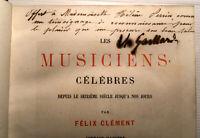 1878 MUSICIENS CELEBRES MOZART 45 GRAVURES SIGNATURE GAILLARD EAUX FORTES MUSIQU