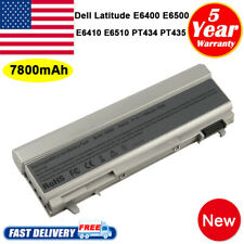 90WH 9 CELL Battery For Dell LATITUDE E6400 E6500 E6410 E6510 F8TTW 4M529 PC TOP
