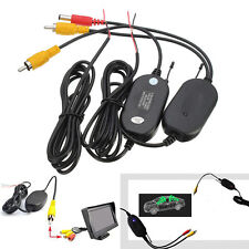 2.4G Wireless RCA Video Transmitter&Receiver For Car Backup Camera