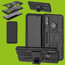 Für Xiaomi Redmi Note 7 / Pro Hybrid Hülle 2teilig Outdoor Schwarz Tasche Etuis