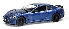 Maserati GranTurismo MC Stradale Sammlermodell 1:38 dunkelblau Neuware KINSMART