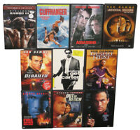 Action Movie DVD Lot - (10 DVDs) - (Steven Seagal / Sylvester Stallone / Van Dam