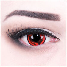"Coloured Contact Lenses ""Itachi`s Mangekyou Sharingan"" Carnival + Free Case"