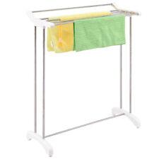 Free Standing Towel Rack Stand Stainless Steel Bathroom Organizer Hanger New
