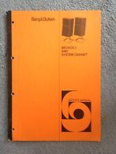 Bang & Olufsen Beovox 3 Service Manual