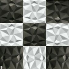 4qm / 16 Stück 3D Wandpaneele Deckenpaneele Platten Paneele Diamant Wand Decke