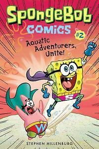Spongebob Comics 2: Aquatic Adventurers, Unite!  Good