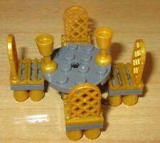 Lego City - Friends -Königlicher - Tisch und 4 Stühle