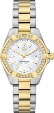 WBD1421.BB0321 TAG Heuer Aquaracer Diamond Watch for Women Two-Tone Steel & Gold