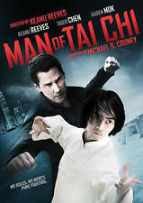 MAN OF TAI CHI WIDESCREEN DVD MOVIE KEANU REEVES TIGER CHEN W/ SLIPCOVER FREESHP