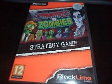 Vampires v. Zombies (PC, 2012) CD-ROM GAME NEW & FACTORY SEALED!!! (U.K IMPORT)