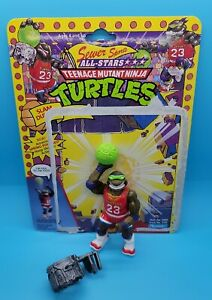 Slam Dunkn' Don, TMNT, Sewer Sports, All Stars, COMPLETE, 1991, Playmates