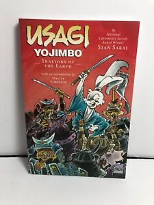 Usagi Yojimbo, vol 26: Traitors of the Earth HC Stan Sakai First Printing A6