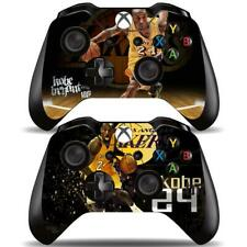 2 Pack Xbox One Controllers Remote Kobe Bryant NBA Lakers Vinyl Skin Decals Wrap