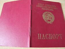 Reisepass Pass Ausweis UdSSR Sowjetunion Russland Ukraine 1991 СССР паспорт USSR