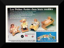 PUB PUBLICITE FEUFOLLETTE POUSSINET EL GRECO 70's  poupée - doll - bambola