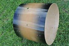 """PDP 22"""" CONCEPT MAPLE CHARCOAL BURST BASS DRUM SHELL for YOUR DRUM SET! #D386"""