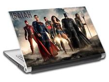 Justice League Personalized LAPTOP Skin Decal Vinyl Sticker ANY NAME Batman L729