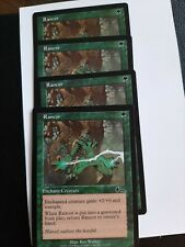 MTG Rancor Urza's Legacy x4. Combined shipping. LP to NN