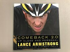 Lance Armstrong Signed Autograph Book Comeback 2.0 With COA PSA/DNA