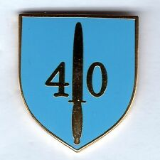 Royal Marine 40 Commando Lapel Badge