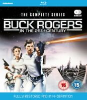 Nuovo Buck Rogers IN The 25th Secolo Serie Completa Blu-Ray