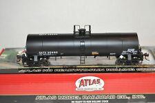 HO scale Atlas 17,360 gallon tank car train GATX Lease Olin Chemicals
