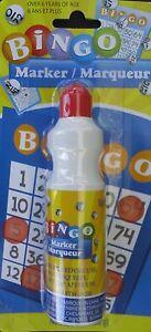 BINGO DAUBERS POSTER MARKERS 2.8 Oz 1 Ct/Pk, SELECT:  Color
