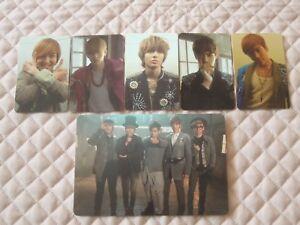 SHINee 4th Mini Album Sherlock Photocard Full Set SMTOWN KPOP *READ DESCRIPTION*