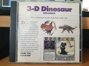 3-D Dinosaur Adventure Knowledge Adventure CD ROM DOS