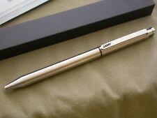 LAMY TWIN PEN 645 ST / STEEL BALLPOINT / 0.5mm PENCIL / MINT / GERMANY