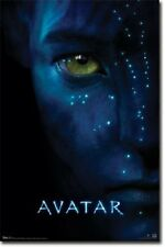 JAMES CAMERON JAKE NEYTIRI AVATAR MOVIE SCORE POSTER 22x34 NEW & FREE SHIPPING