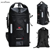 Motorcycle Backpack Waterproof Large Capacity Hiking Camping Storage Bag 30L