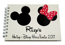 Personalised Disney Mickey & Minnie Autograph Book - Scrapbook