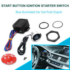 Starterknopf Motorstartknopf Auto Car Engine Button Start Kit LED 12V Universal