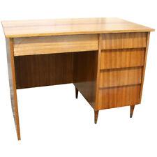 "42"" Mid Century Vintage Mahogany Writing Desk (Mr10788)"