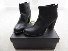 Jones Black Leather 'Oriel' Ankle Boots Size 6 (EUR 39) BNIB