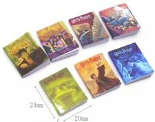 Doll House Accessories 1:12 Miniature - Set of 7 HARRY POTTER Mini Books