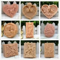 Character Silicone Molds Craft Soap Bar Mold Fairy Angle Venus Handmade Mold