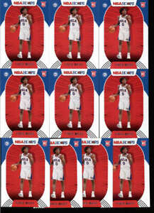 LOT OF (20) TYRESE MAXEY 2020/21 PANINI HOOPS #207 ROOKIE RC BASE FC7714