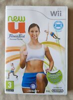 Nintendo Wii game - NewU Fitness First Personal Trainer + instructions
