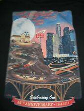 IN-N-OUT BURGER Arizona black t shirt men's Medium 65th Anniversary 100% cotton