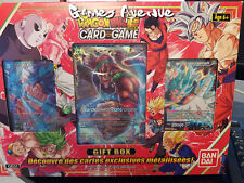 Dragon Ball Super Card Game ! Coffret 'Gift Box' Noel 2018 - Version Française !