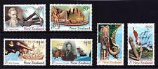 New Zealand 1997 Discoverers - Explorers Set of 6 MNH